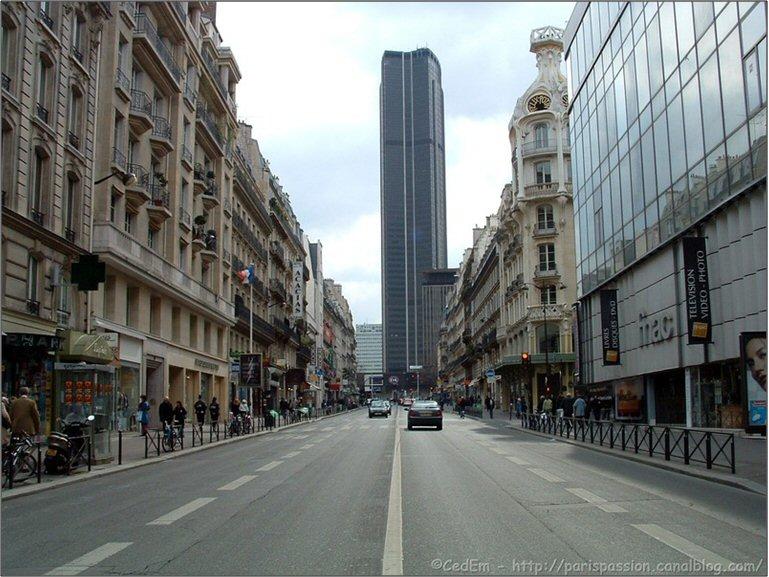 La rue de rennes un si cle d 39 h sitations for Piscine montparnasse